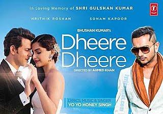 Dheere Dheere Lyrics – Yo Yo Honey Singh | Hrithik Roshan, Sonam Kapoor