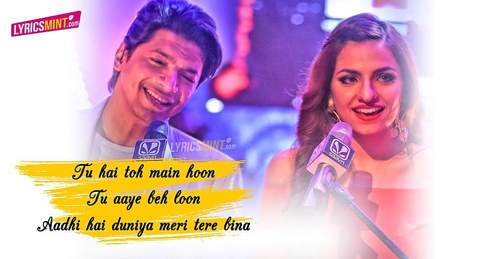 Gazab Ka Hai Din + Bawara Mann Lyrics - Shaan, Sukriti Kakar | T-Series Mixtape