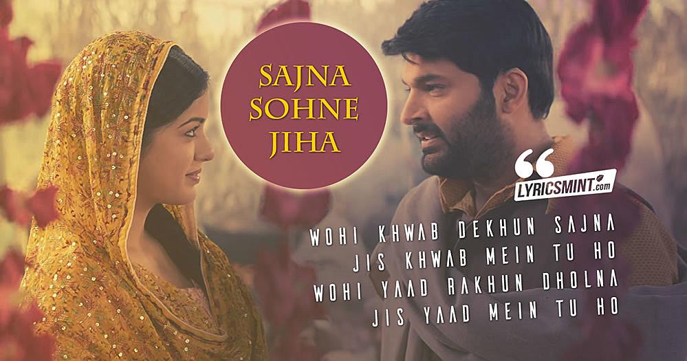 Sajna Sohne Jiha Lyrics - Firangi