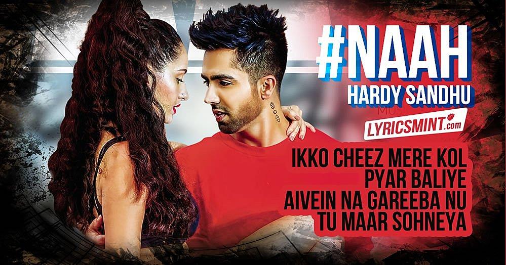 Naah Lyrics Hardy Sandhu