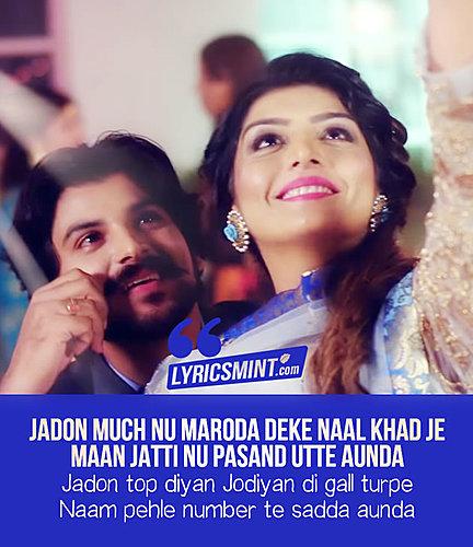 Jodiyan Lyrics Rupinder Handa Punjabi Song Status