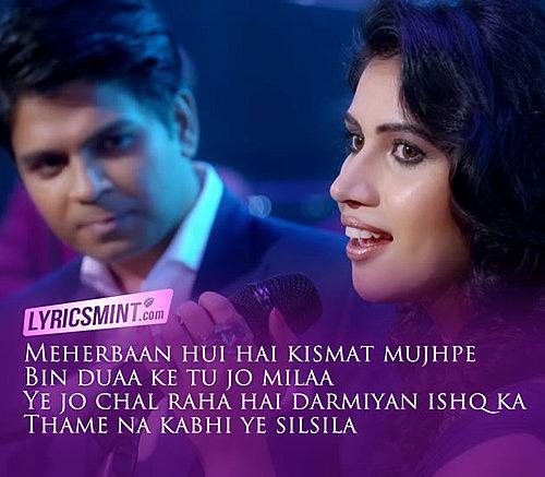 Tere Ishq Ki Baarish Mein Ankit Tiwari And Shivangi Bhayana
