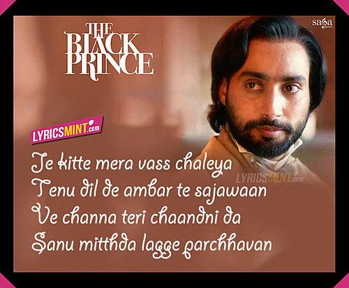 Channa By Satinder Sartaaj The Last Black Prince