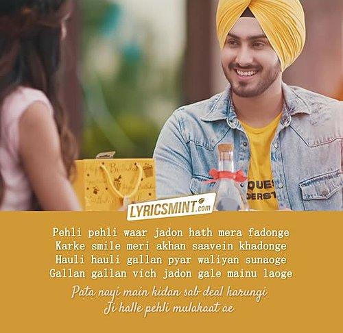 Pehli Mulakaat Lyrics Rohanpreet Singh Punjabi Songs