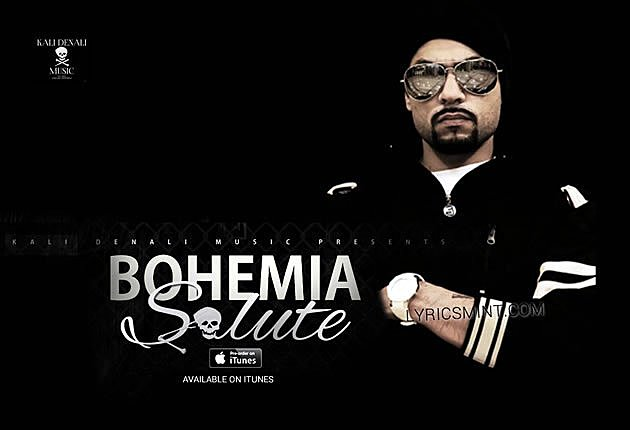SALUTE LYRICS - BOHEMIA | new rap song (2015)