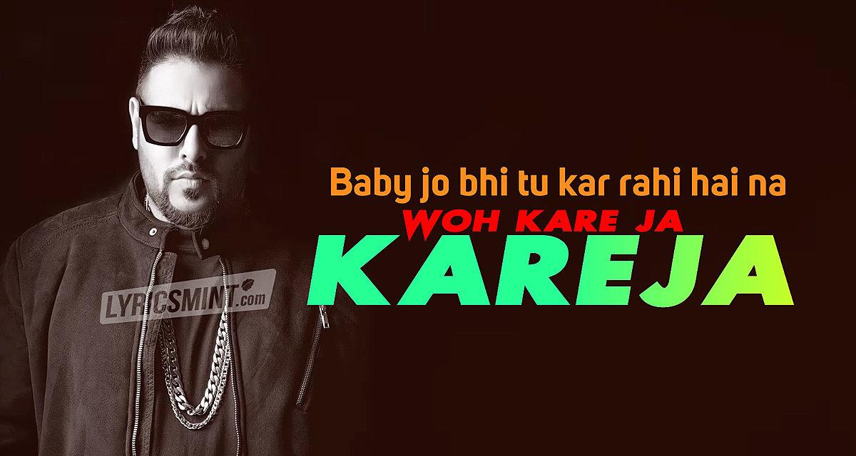 Badshah's Kareja (Kare Ja) Lyrics