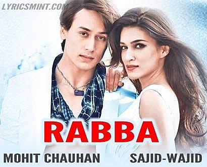 Rabba Lyrics - Heropanti (2014) Hindi Lyrics
