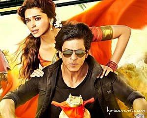 Chennai Express - SRK, Deepika